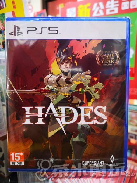 全新 PS5 原版片, 黑帝斯 簡體中文版, 內附初回特典DLC