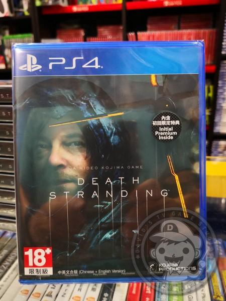 全新 PS4 死亡擱淺 Death Stranding 中文一般版, 內附特典DLC