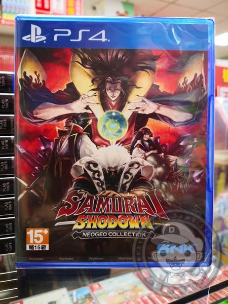 全新 PS4 原版遊戲片, 侍魂 NEOGEO 典藏輯 中英文合版