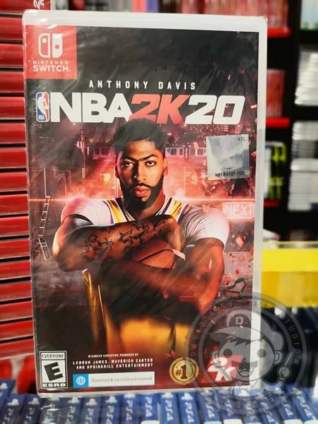 特價片 全新 NS 原版遊戲卡帶, NBA 2K20 中文標準版