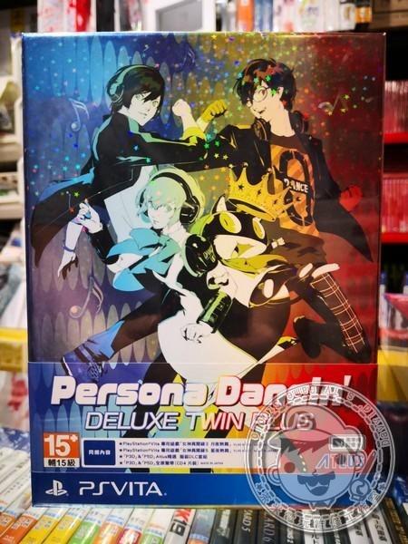 全新 PSVITA 原版遊戲卡帶, 女神異聞錄 熱舞 雙重加值包 中文包裝版
