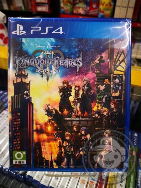特價片 全新 PS4 原版遊戲, 王國之心 3 亞日版, 沒中文喔