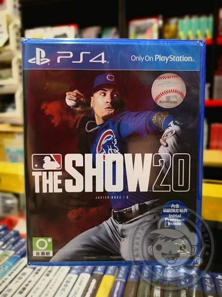全新 PS4 原版遊戲片, MLB 美國職棒大聯盟 20 英文版