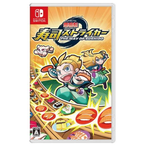 全新 NS Switch 原版遊戲, 超迴轉 壽司強襲者 代理包裝日文版, 沒出中文