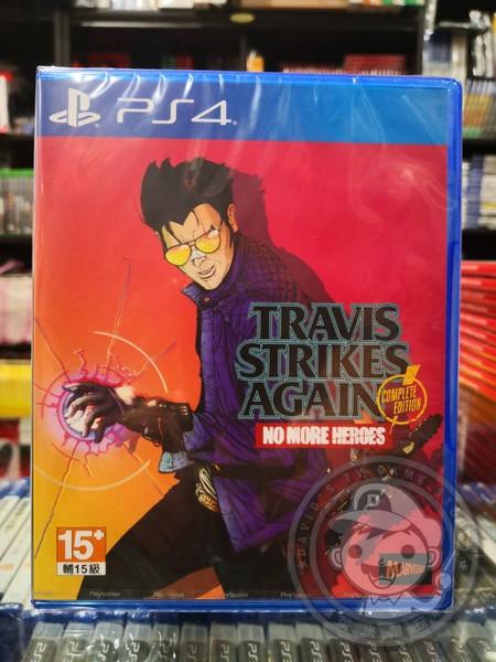 全新 PS4 原版遊戲片, 特拉維斯再戰江湖:英雄不再 完整版 中文版, 內附贈預購特典