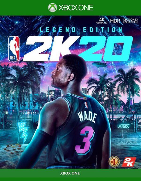 全新 XBOX ONE 原版遊戲片, NBA 2K20 中文傳奇版