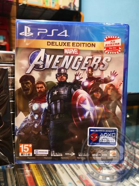 特價片 全新 PS4 原版遊戲片, 漫威復仇者聯盟 中文豪華版, 內附特典DLC