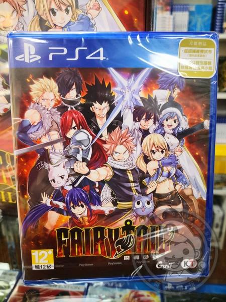 期間限定 全新 PS4 原版遊戲片, FAIRY TAIL 魔導少年 中文版