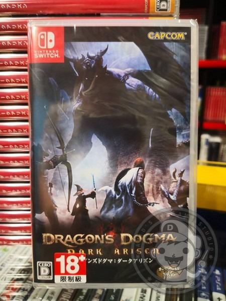 全新 NS 原版遊戲卡帶, 龍族教義:黑暗再臨 中英日文合版