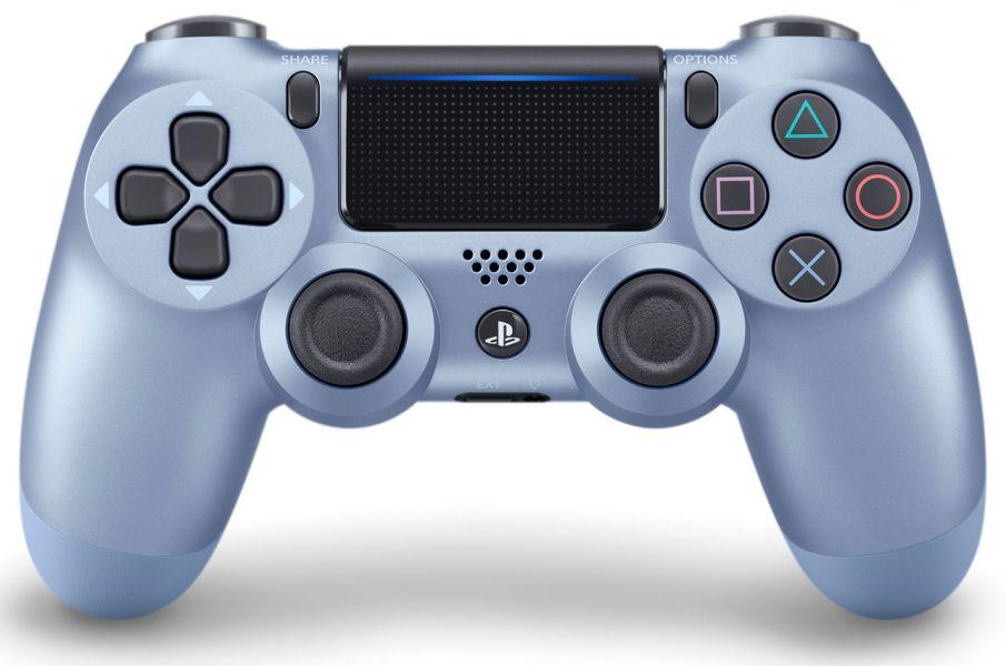 全新台灣 SONY 公司貨 PS4 DUALSHOCK 4 新款無線控制器(鈦金藍)