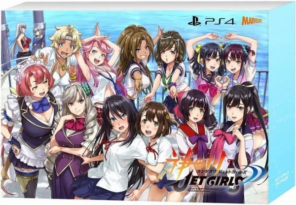 日版 全新 PS4 原版遊戲片, 神田川 JET GIRLS 日文限定版