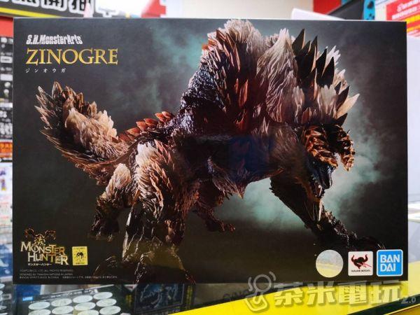 BANDAI S.H.MonsterArts 魔物獵人 雷狼龍 可動模型, 不挑盒況