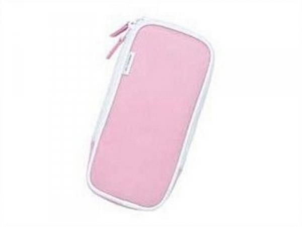 庫存出清 日本原裝進口 HORI PSP 專用帆布包(粉紅色) HPP-218
