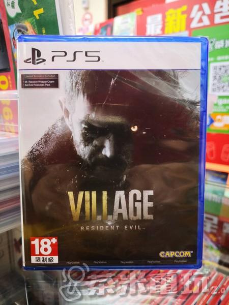全新 PS5 原版遊戲片, 惡靈古堡 8:村莊 中文版