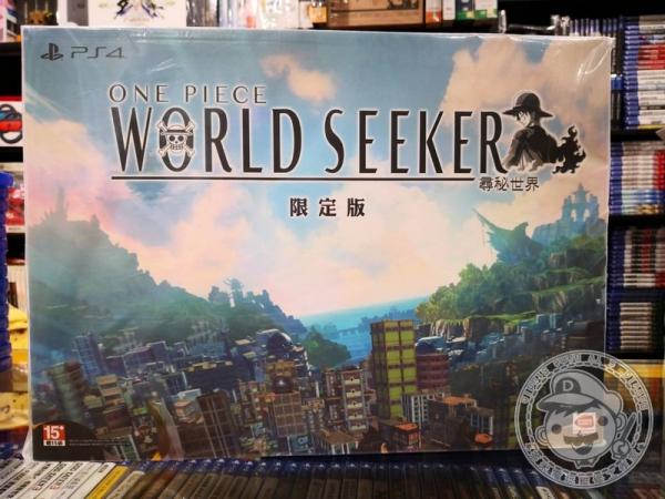 期間限定 全新 PS4 原版遊戲, 航海王 尋秘世界 中文限定版