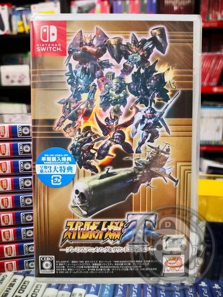 全新 NS 原版遊戲卡帶, 超級機器人大戰 T 日文期間限定版, 內附初回特典DLC