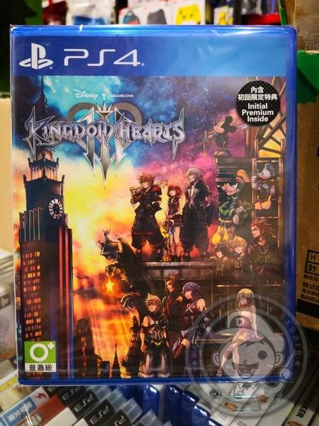 期間限定 全新 PS4 原版遊戲, 王國之心 3 中文版, 內附預購特典DLC