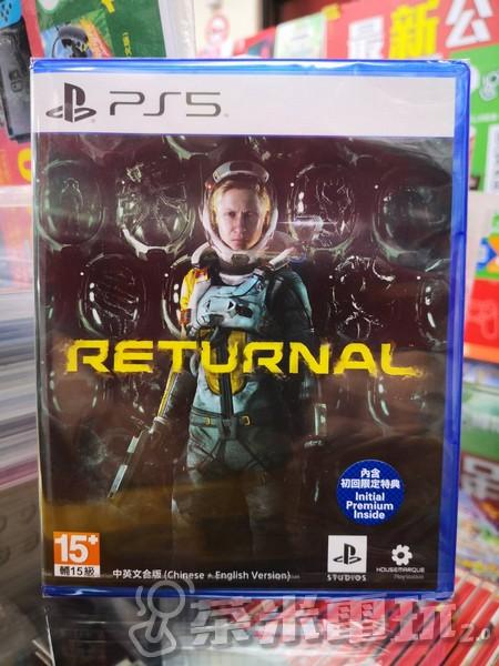全新 PS5 原版遊戲片, 死亡回歸 中文版, 內附初回特典DLC