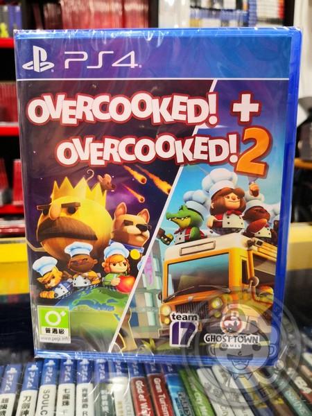 全新 PS4 遊戲片 煮過頭 1+2 合輯 歐版 中英文合版