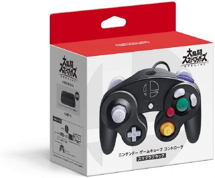 日本 任天堂原廠 大亂鬥款 GameCube 造型 GC 接頭有線手把