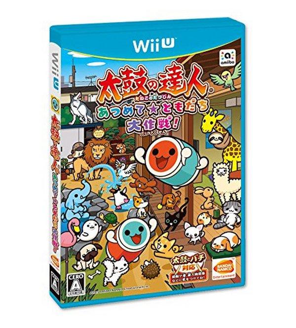 出清 全新 Wii U 原版片, 太鼓達人 太鼓之達人 集結友情大作戰 純日版