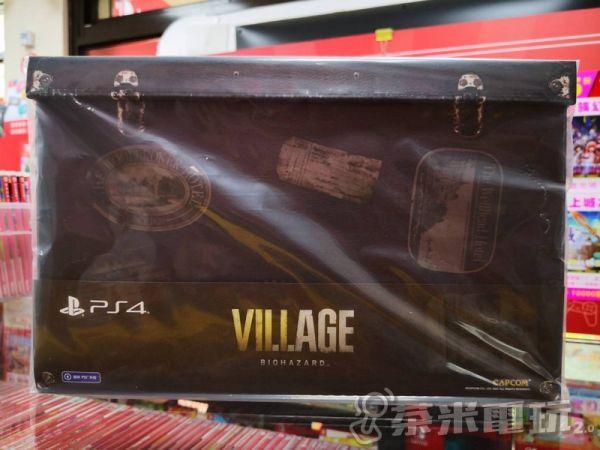 全新 PS4 原版遊戲片, 惡靈古堡 8:村莊 中文典藏版