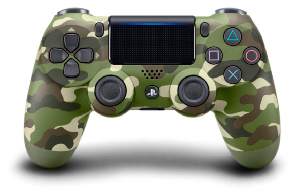 全新台灣 SONY 公司貨 PS4 DUALSHOCK 4 新款無線控制器(迷彩綠)