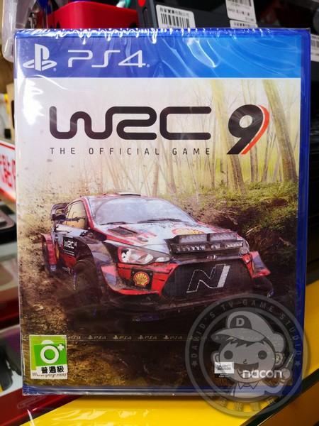 全新 PS4 原版遊戲片, WRC 9 世界越野冠軍賽 9 國際包裝中文版