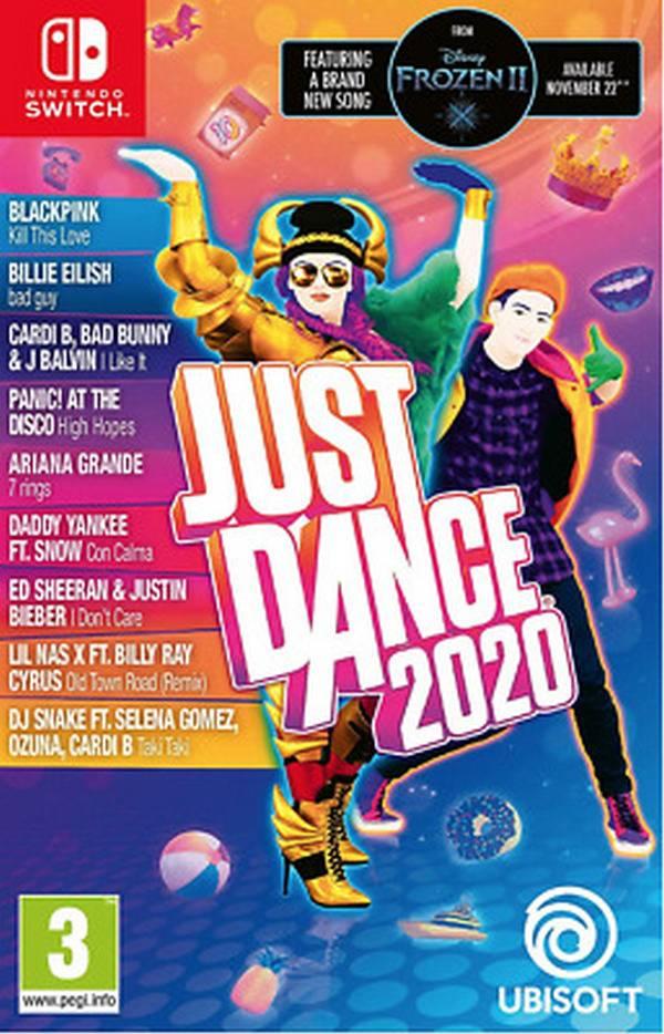 特價片 全新 NS 原版遊戲, Just Dance 舞力全開 2020 英文包裝中文版