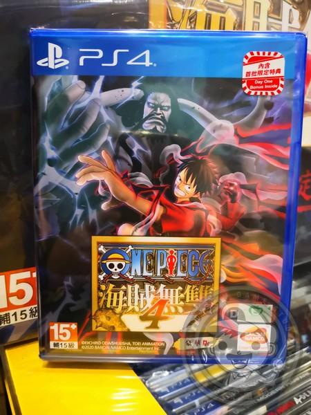 全新 PS4 原版遊戲片, 航海王:海賊無雙 4 中文豪華版, 內附特典DLC