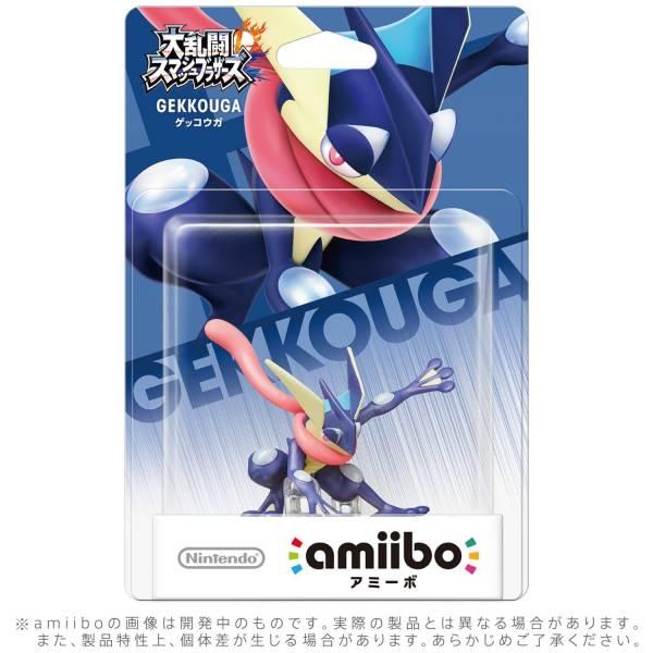 全新任天堂明星 NFC 連動人偶玩具 amiibo, 大亂鬥 忍者蛙 款(不含遊戲片)