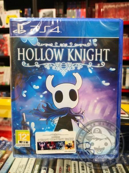 全新 PS4 原版遊戲片, 窟窿騎士 英文包裝簡體中文版, 加送別針贈品(不挑款)