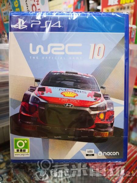 全新 PS4 原版遊戲片, WRC 世界拉力錦標賽10 中英文合版