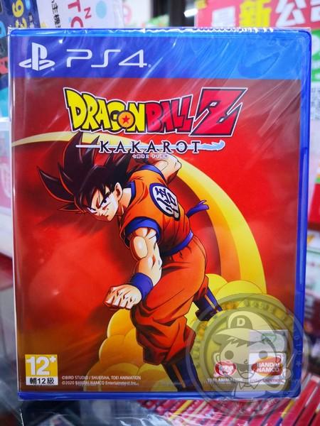 全新 PS4 原版遊戲片, 七龍珠 Z 卡卡洛特 中文普通版, 非首批沒有附初回特典DLC囉