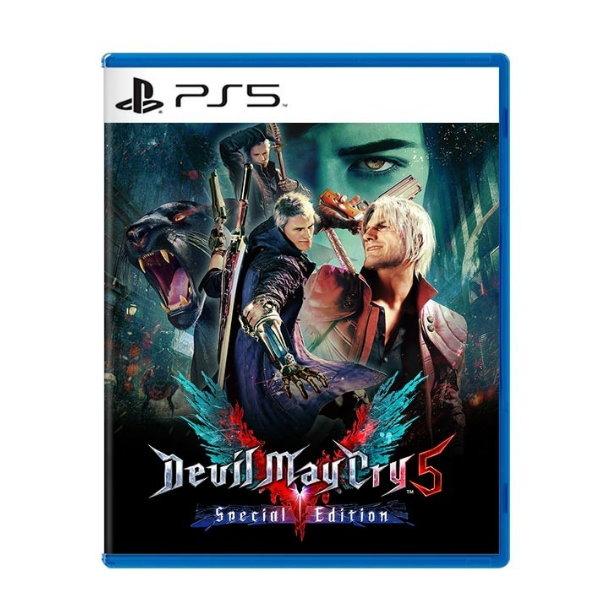全新 PS5 原版遊戲片, 惡魔獵人 5 特別版 中文版