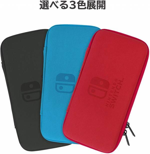 全新日本 HORI 牌 NS Switch Lite 主機專用 攜帶收納用輕薄款拉鍊包