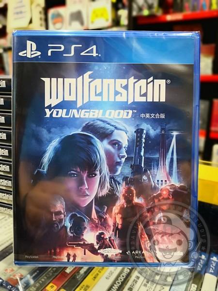 全新 PS4 德軍總部:血氣方剛 中文一般版