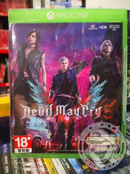 全新 XBOX ONE 原版遊戲片, 惡魔獵人 5 Devil May Cry 5 中文一般版