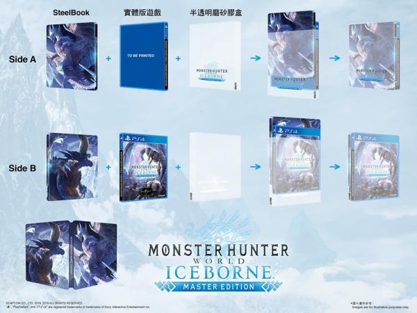 全新 PS4 魔物獵人 世界:Iceborne Master Edition中文亞版, 送贈品
