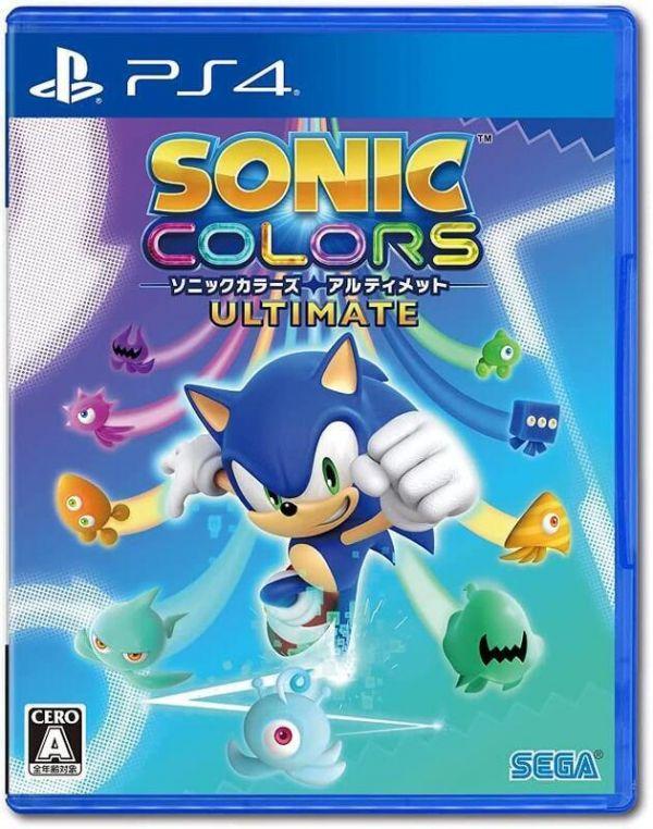 全新 PS4 原版片, 音速小子 繽紛色彩 究極版 中文版