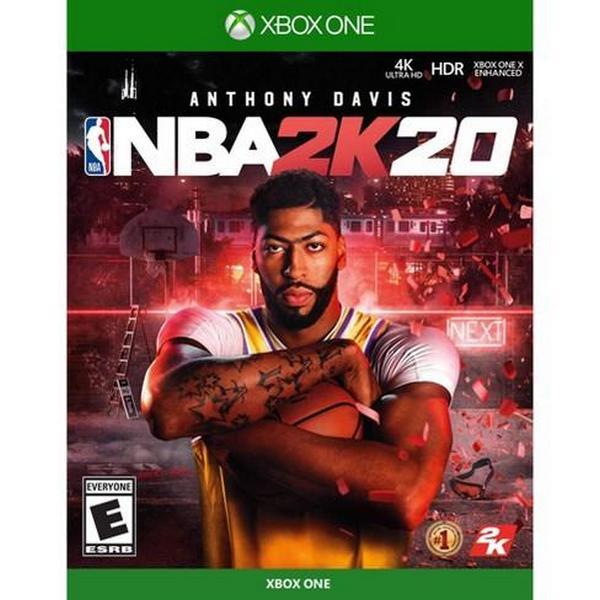特價片 全新 XBOX ONE 原版遊戲片, NBA 2K20 中文標準版