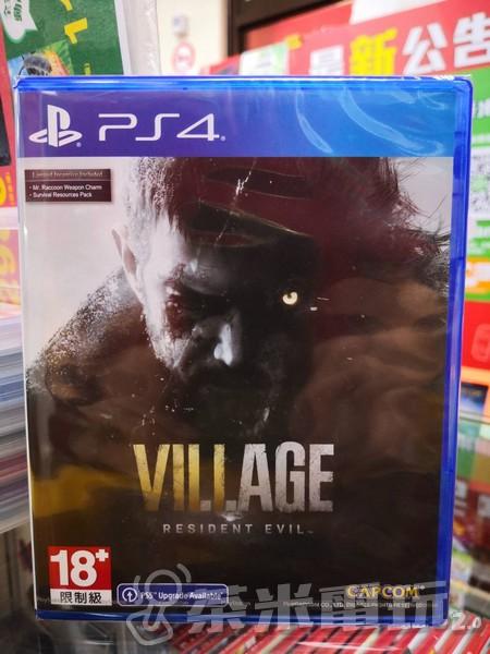 全新 PS4 原版遊戲片, 惡靈古堡 8:村莊 中文版