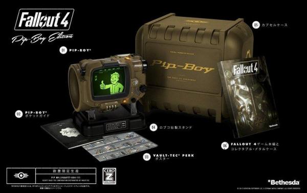 全新 PS4 原版片, Fallout 4 Pip-Boyエディション 純日限定版