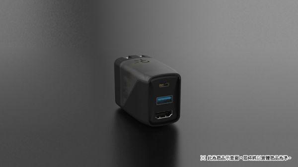 台灣代理貨 Switch 用便攜式 GENKI Dock 迷你款電視切換+充電座,代理商保固一年