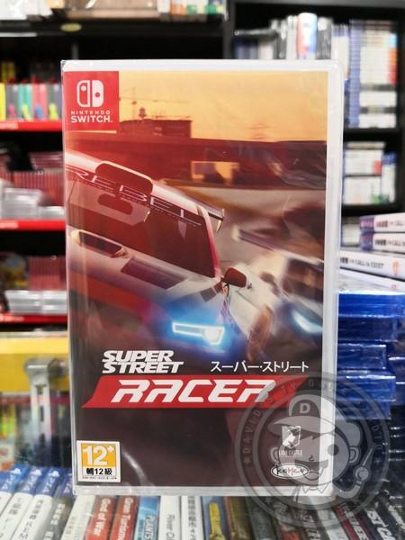全新 NS Switch 超級街道賽 Super Street: The Game 日文包裝中文版