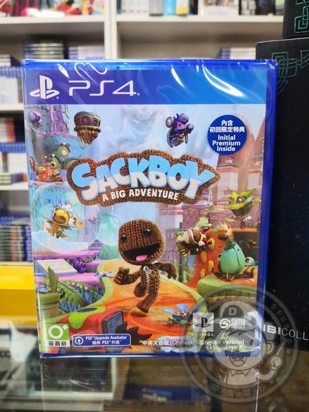 全新 PS4 原版遊戲片, 小小大冒險 中文版