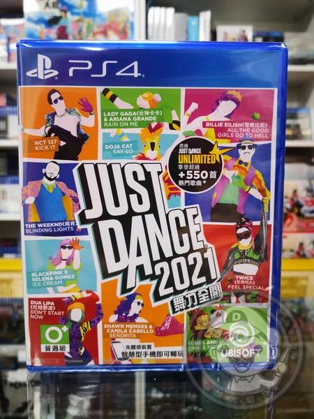 全新 PS4 原版遊戲片, 舞力全開 2021 中英文合版
