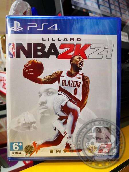 期間限定 全新 PS4 原版遊戲片, NBA 2K21 中文一般版