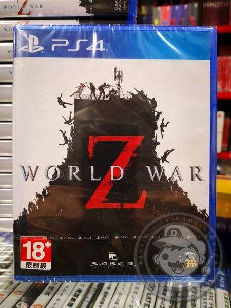 全新 PS4 原版片, 末日之戰 World War Z 英文包裝中文版