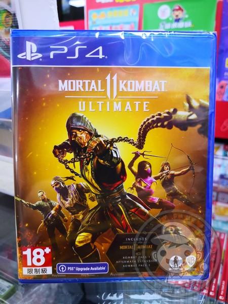 全新 PS4 遊戲片, 真人快打 11 終極版 國際包裝版(內有簡體中文)